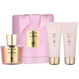 Acqua di Parma Rosa Nobile ajándékszett II.  Eau de Parfum 100 ml + tusfürdő gél 75 ml + testápoló krém 75 ml