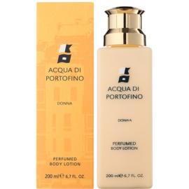 Acqua di Portofino Donna Lapte de corp pentru femei 200 ml