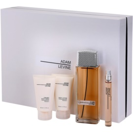 Adam Levine Women dárková sada I. parfémovaná voda 100 ml + sprchový gel 50 ml + tělové mléko 50 ml + parfémovaná voda 10 ml