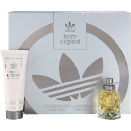 Adidas Originals Born Original Geschenkset I. Eau de Toilette 30 ml + Duschgel 75 ml