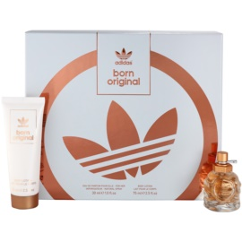 Adidas Originals Born Original set cadou II.  Eau de Parfum 30 ml + Lotiune de corp 75 ml