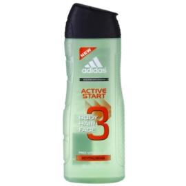 Adidas 3 Active Start (New) гель для душу для чоловіків 400 мл