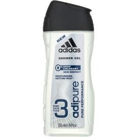 Adidas Adipure tusfürdő férfiaknak 250 ml