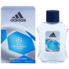 Adidas Champions League Star Edition loción after shave para hombre 100 ml