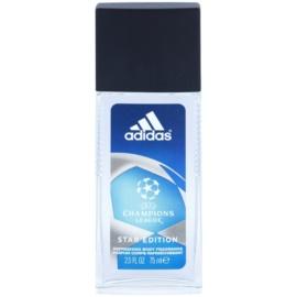 Adidas Champions League Star Edition дезодорант з пульверизатором для чоловіків 75 мл