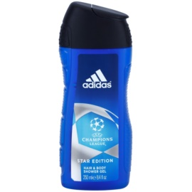 Adidas Champions League Star Edition gel de duche para homens 250 ml