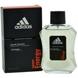 Adidas Deep Energy toaletna voda za moške 100 ml