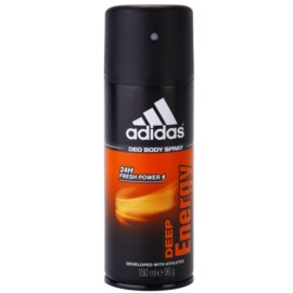 Adidas Deep Energy desodorante en spray para hombre 150 ml