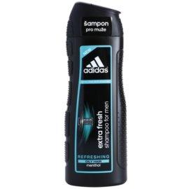 Adidas Extra Fresh shampoing rafraîchissant pour cheveux gras menthol  400 ml