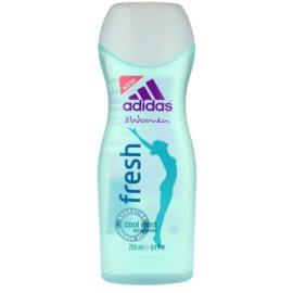 Adidas Fresh żel pod prysznic dla kobiet 250 ml