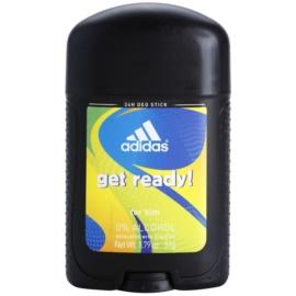 Adidas Get Ready! desodorizante em stick para homens 51 g