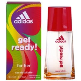 Adidas Get Ready! Eau de Toillete για γυναίκες 30 μλ