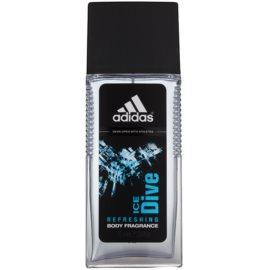 Adidas Ice Dive spray de corpo para homens 75 ml