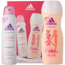 Adidas Control  Cool & Care dárková sada I. deodorant ve spreji 150 ml + sprchový gel 250 ml