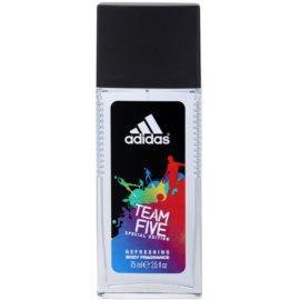 Adidas Team Five spray dezodor férfiaknak 75 ml
