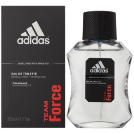 Adidas Team Force Eau de Toilette para homens 50 ml