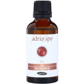 Adria-Spa Natural Oil makadamiový olej pro lesk a hebkost vlasů  50 ml