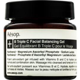 Aēsop B Triple C Facila Balancing Gel antioksidantni gel za obraz z vitamini  60 ml