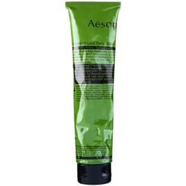 Aésop Body Geranium Leaf osvěžující tělový peeling  170 ml