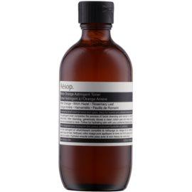 Aésop Skin Bitter Orange lotion tonique douce nettoyante pour peaux grasses  200 ml
