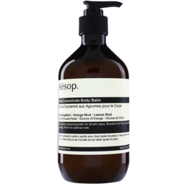 Aésop Body Rind Concentrate bálsamo hidratante de corpo para todos os tipos de pele  500 ml