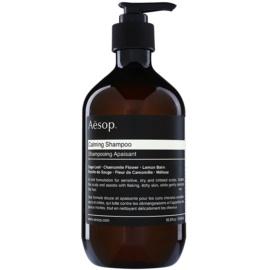 Aēsop Hair Calming champú calmante para cuero cabelludo seco con picores  500 ml