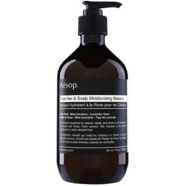 Aésop Hair Rose hydratační maska na vlasy a vlasovou pokožku  500 ml