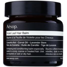 Aésop Hair Violet Leaf formázó balzsam a rakoncátlan és töredezett hajra  60 ml