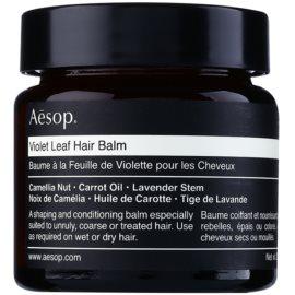 Aésop Hair Violet Leaf balzam za oblikovanje za neposlušnu i anti-frizz kosu  60 ml