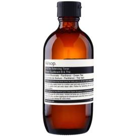 Aésop Skin B & Tea jemné čisticí tonikum pro všechny typy pleti včetně citlivé  200 ml