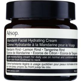 Aésop Skin Mandarin crème de jour légère hydratante pour peaux normales à mixtes  60 ml