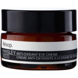 Aēsop Skin Parsley Seed antioksidantna krema za predel okoli oči  10 ml