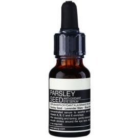 Aésop Skin Parsley Seed Antioxidationsserum für die Augenpartien  15 ml