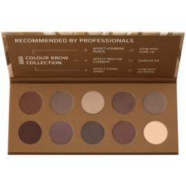 Affect Color Brow Colection paleta za ličenje obrvi
