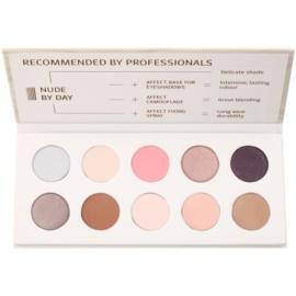 Affect Nude By Day paleta de sombras de ojos 10 colores