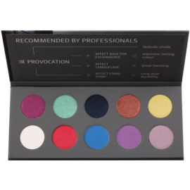 Affect Provocation 10 színt tartalmazó szemhéjfesték paletta
