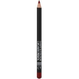 Affect Shape & Colour crayon contour lèvres teinte Bordo