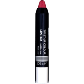Affect Twist-up Colour szminka pielęgnująca z matowym wykończeniem odcień Classic