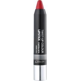Affect Twist-up Colour pflegender Lippenstift mit Matt-Effekt Farbton Flamenco