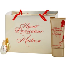 Agent Provocateur Maitresse ajándékszett II.  tusfürdő krém 50 ml + Eau de Parfum 5 ml