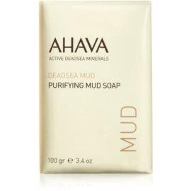 Ahava Dead Sea Mud čisticí bahenní mýdlo  100 g