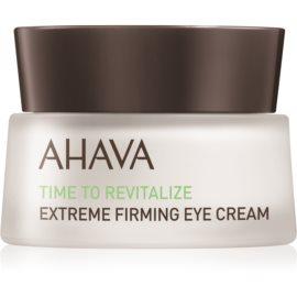 Ahava Time To Revitalize učvršćujuća krema za područje oko očiju protiv bora  15 ml