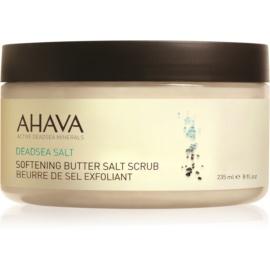 Ahava Dead Sea Salt mehčalno piling maslo s soljo iz Mrtvega morja  220 g