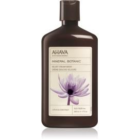 Ahava Mineral Botanic Lotus & Chestnut samtige Duschcreme Lotosblüte und Kastanie  500 ml