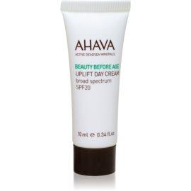 Ahava Beauty Before Age lifting krema za posvetlitev in zgladitev kože SPF 20  10 ml