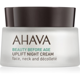 Ahava Beauty Before Age nočna lifting krema za učvrstitev kože za obraz, vrat in dekolte  50 ml
