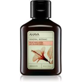 Ahava Mineral Botanic Hibiscus & Fig Bodylotion mit Samteffekt Eibisch und Feige  85 ml