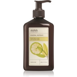Ahava Mineral Botanic Lemon & Sage jemné tělové mléko citron + šalvěj  400 ml