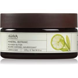 Ahava Mineral Botanic Lemon & Sage hranilno maslo za telo limona + žajbelj  235 g