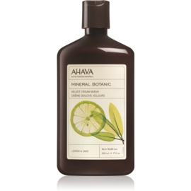 Ahava Mineral Botanic Lemon & Sage jemný sprchový krém citrón + šalvia  500 ml